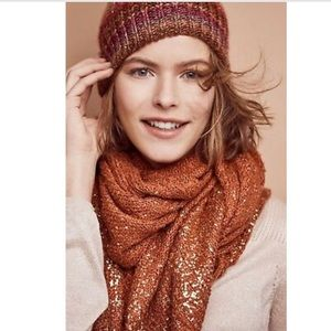 ✨Anthropologie Shimmered Boucle Scarf!!